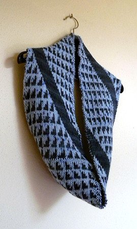 "Double knitting Cowl pattern ""Aix"""