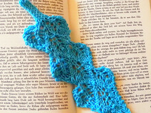 "Lace Bookmark Knitting Pattern ""Page Turner"""