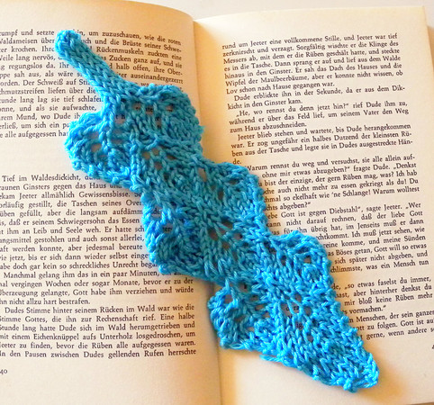 "LacE-Bookmark Knitting Pattern ""Page Turner"""
