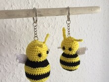 Bee - Amigurumi - Key Fob - Crochet Pattern