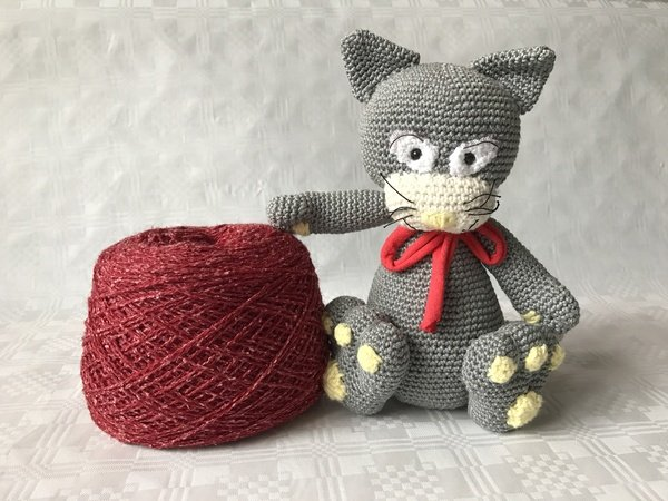 Amigurumi Crochet Yorkshire Terrier Dog Free Pattern - Amigurumi ... | 450x600