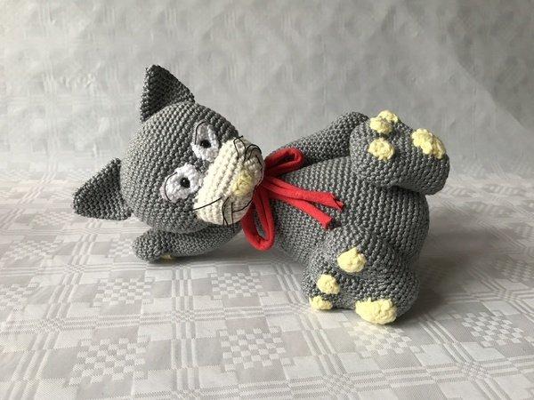 crochet amigurumi cat - All Crochet - All Crochet | 450x600