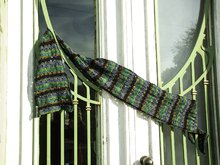"Lace Scarf Knitting Pattern ""Emmentaler Scarf"""
