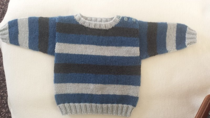 baby pullover stricken jungs pullover. Black Bedroom Furniture Sets. Home Design Ideas