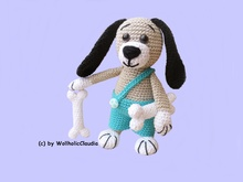 Crochet pattern Dog Waldemar