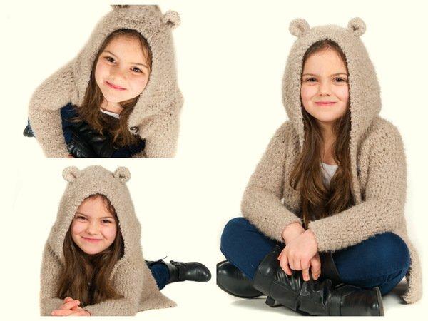Melly Softmantel Teddymantel Ab Baby Plus Size Häkeln Rvo