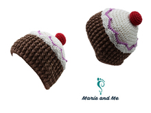 Cupcake - hat (crocheting)