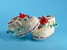 Baby shoes moccasin crochet pattern