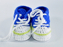 Baby runners crochet pattern