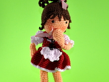 doll Lisa Amigurumi crochet pattern