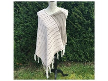 Strick-Anleitung Poncho / Cape
