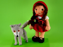little red riding hood and the wolf crochet pattern