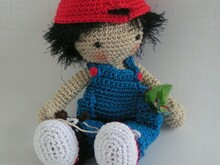 doll Benny crochet pattern