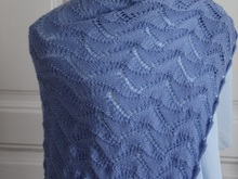 Anna - rectangular Lace Shawl