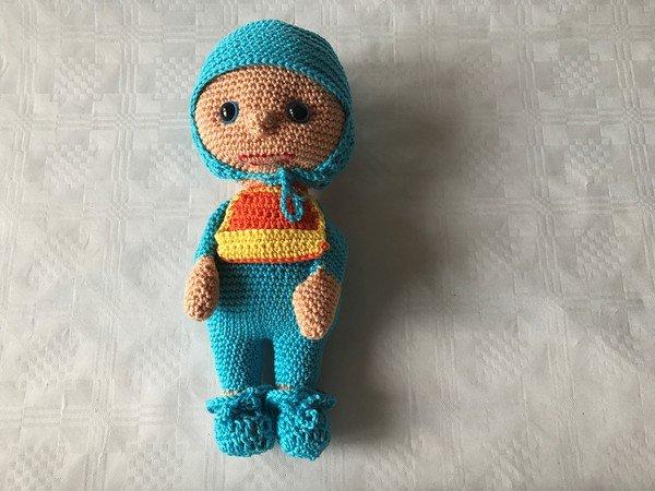 Häkelanleitung für eine Babypuppe