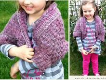 Knitting pattern for Shrug / Soulwarmers for girls in all sizes | Shrug *Little Princess*