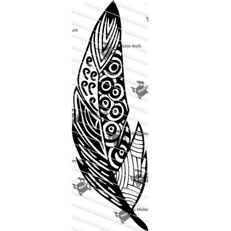 Plotterfile Feather