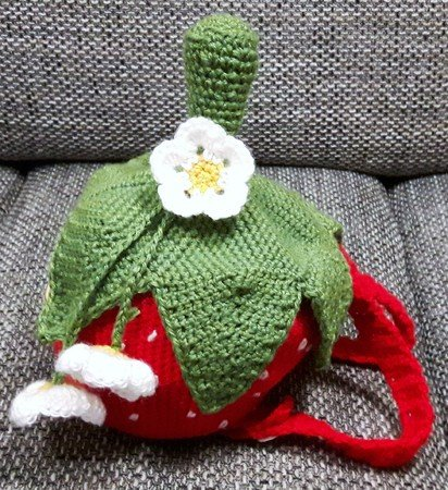 Erdbeer Rucksack