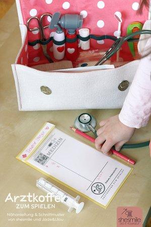 Arztkoffer zum Spielen (Nähanleitung & Schnittmuster)