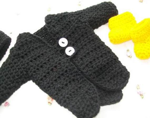 Mickey Mouse Crochet Doll Clothes Pattern