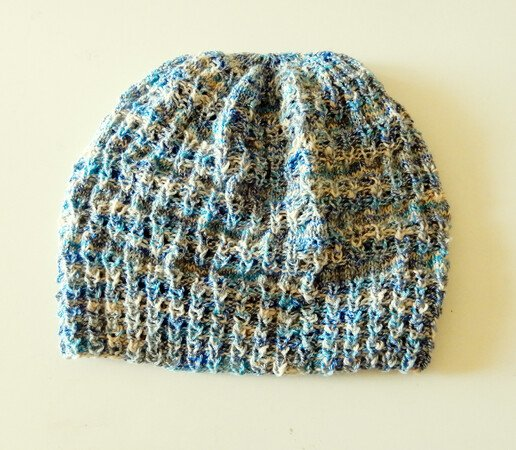 "Beanie Knitting Pattern for a unisex hat in 4 sizes ""Lollipop Hat"""