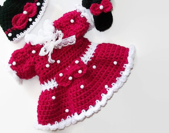 Mickey Minnie Mouse Doll Clothes