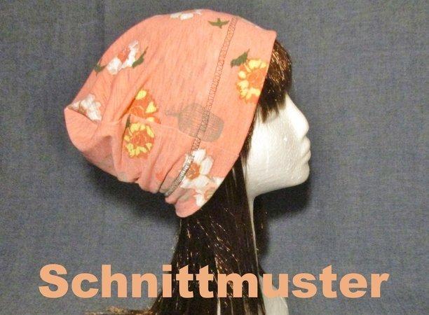 Sommer slouchy Beanie Mütze E-Book Schnittmuster