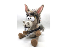 Pablo, the Rock-Donkey. Crochet Instructions English