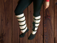 Crochet Pattern Knee High Socks