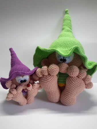 crochet pattern little leprechaun
