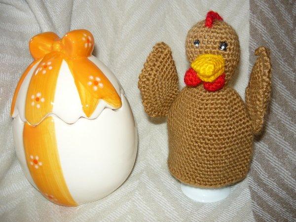 Häkelanleitung Huhn Eierwärmer