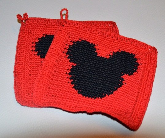 Mickey Mouse Topflappen