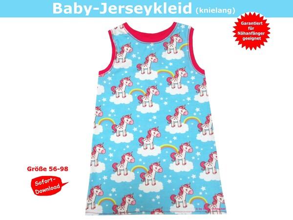 Jersey Babykleid - Schnittmuster & Nähanleitung