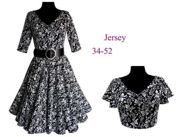 Schnittmuster +Bild Nähanleitung Kleid `Suzan` Gr. 34-52 *nur aus ...