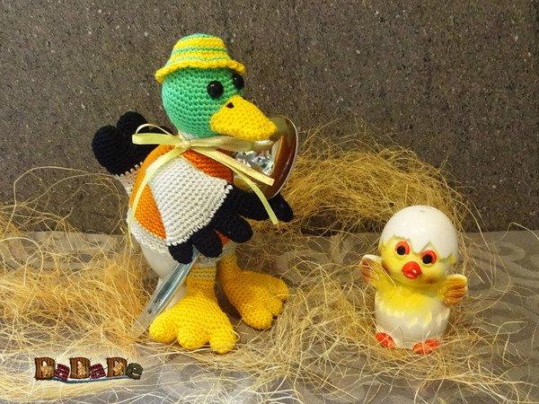 Eierwärmer Wild Ente Nicht Nur Zu Ostern Gehäkelt Von Dadade