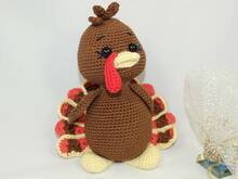 mr. turkey Amigurumi