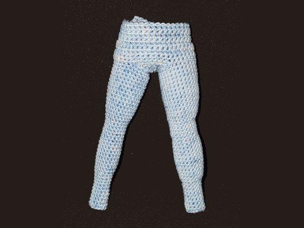 Hose für Curvy Modepuppe häkeln