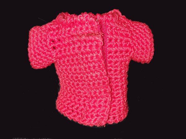 T-Shirt für Curvy Modepuppen häkeln