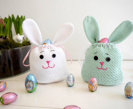 Crochet Pattern - Cute Bunny Bag - Easter - No.160