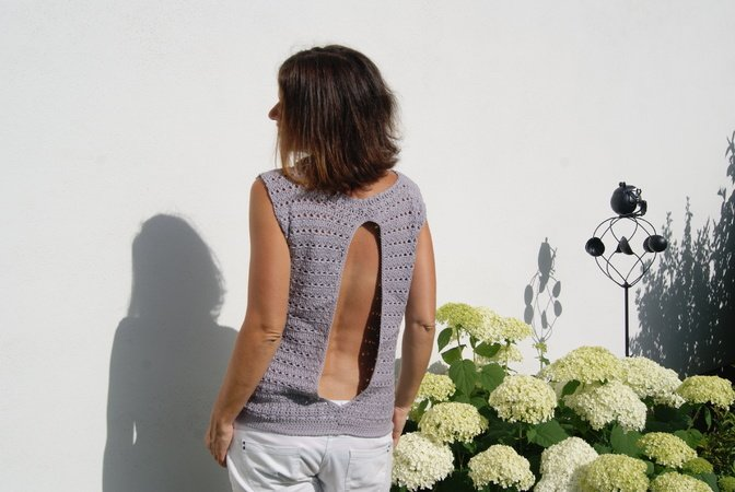 Top backless (Gr. S/M und L/XL)