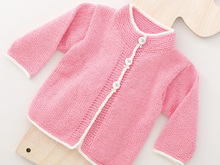 "Strickanleitung Kleinkinderjacke ""Ideal"" 757007"