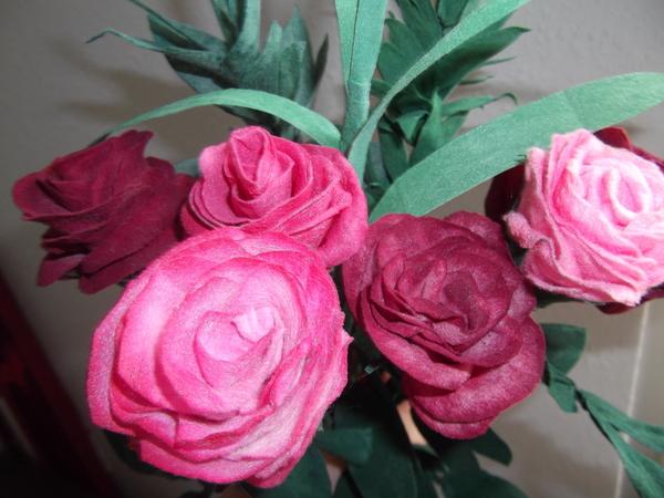 traumhafte rosen einfach selber machen. Black Bedroom Furniture Sets. Home Design Ideas