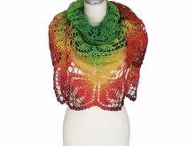Crochet Pattern summer/spring shawl