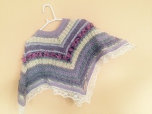 Strickanleitung Kinder Poncho