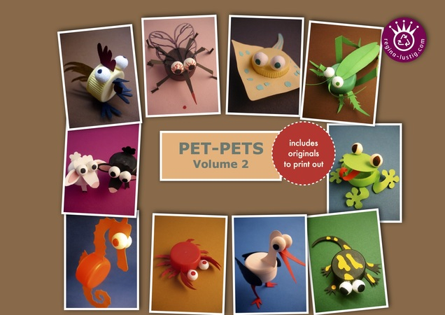 10 little animals, Pet-Pets, Volume 2, Upcycling