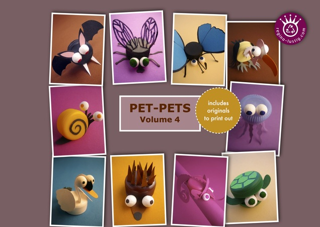 10 little animals, Pet-Pets, Volume 4, Upcycling