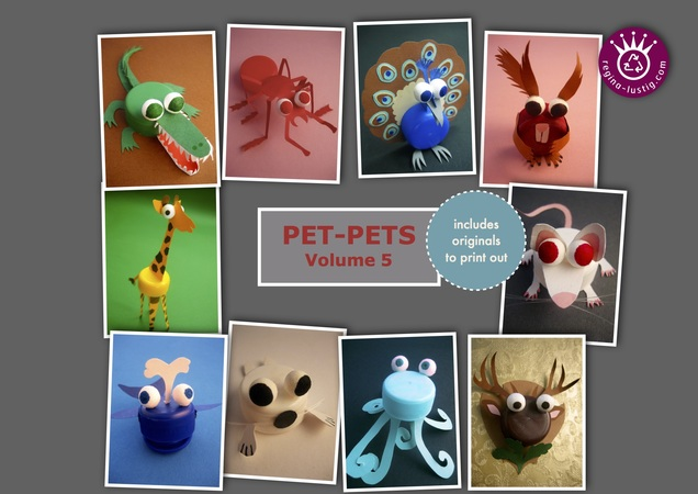 10 little animals, Pet-Pets, Volume 5, Upcycling