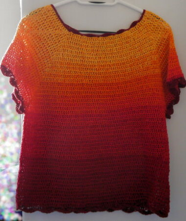 Pattern for crochet pullover