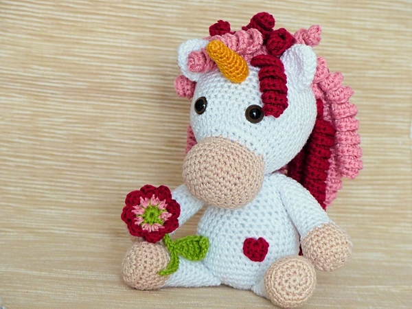 Adele, the Unicorn - Amigurumi Crochet Pattern