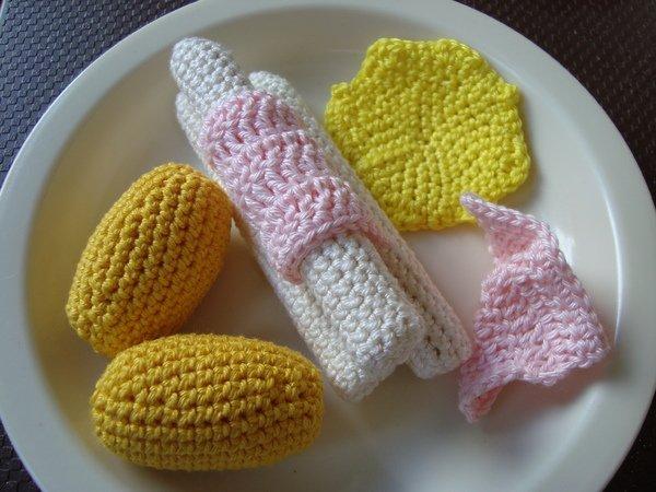 Häkelanleitung Spargel Menü Für Die Kinderküche